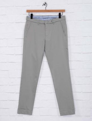 Six Element light grey cotton mens trouser