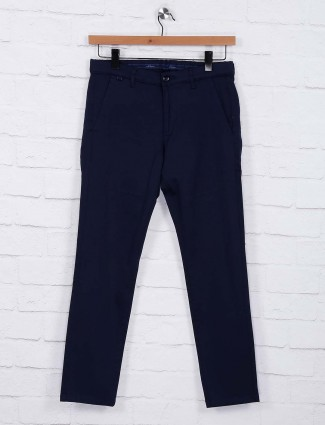 Six Element presented navy colored trouser