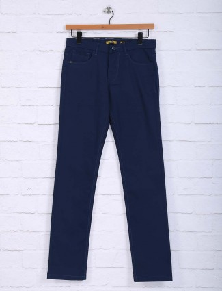 Sixth Element blue casual trouser
