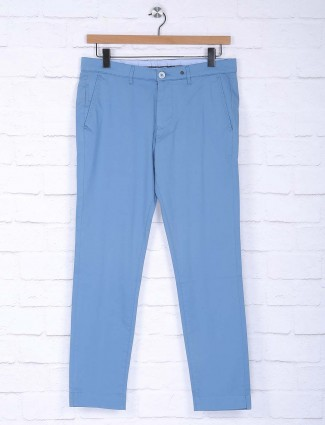 Sixth Element cotton fabric sky blue trouser