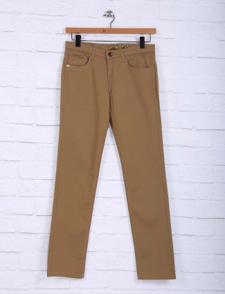 Sixth Element khaki colored simple trouser