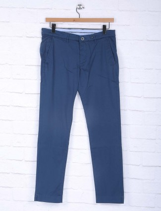 Sixth Element simple navy blue trouser