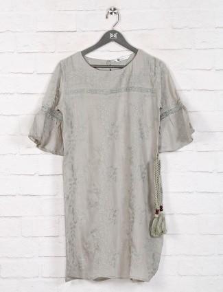 Sober pista green cotton long top