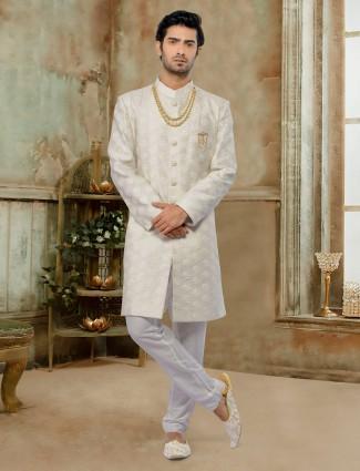 Splendid cream exclusive Indo western