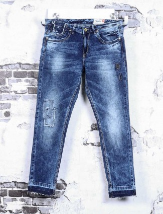 Spykar dark blue denim jeans