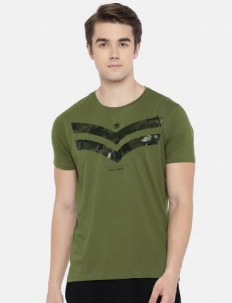 Spykar green t-shirt