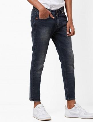 Spykar navy hued mens jeans