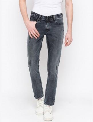 Spykar slim fit navy hued regular jeans