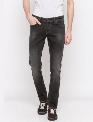Spykar washed denim black hue jeans