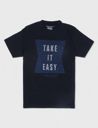 Status Quo black t-shirt for mens