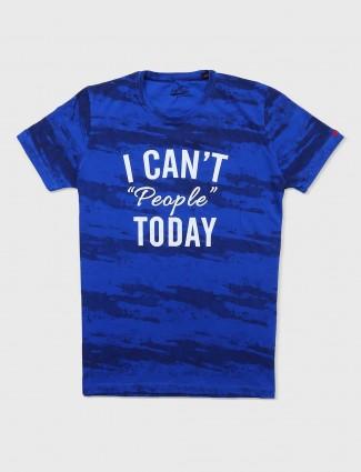 Status Quo blue t-shirt