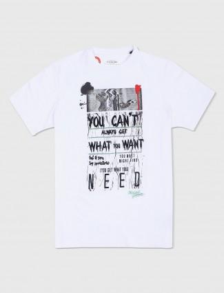Status Quo casual white t-shirt