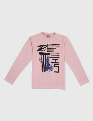 Status Quo dusty pink t-shirt