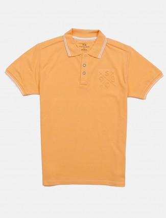 Status Quo solid light orange t-shirt