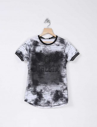 Stride black and white hue t-shirt