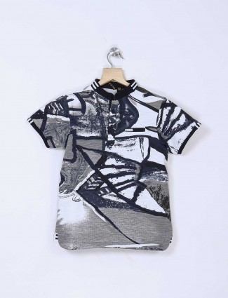 Stride casual grey and blue t-shirt