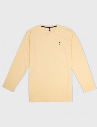 Stride lemon yellow mens t-shirt