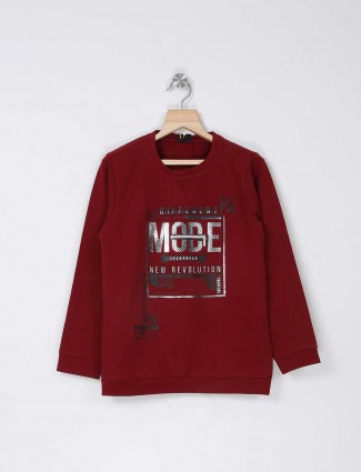 Stride maroon t-shirt