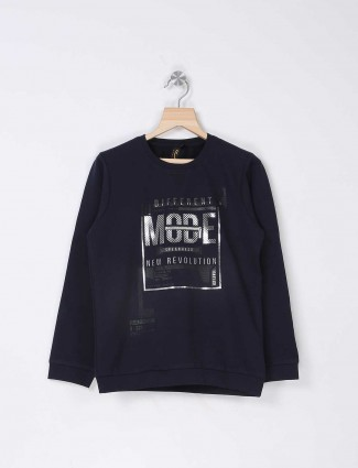 Stride navy printed t-shirt
