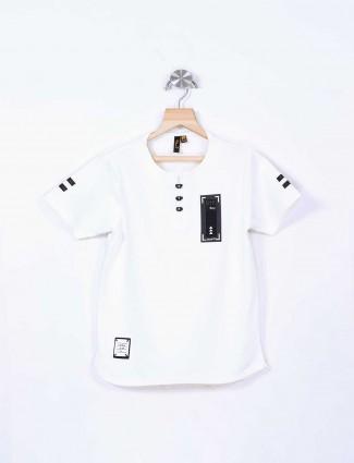 Stride plain white t-shirt