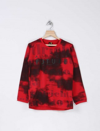 Stride red boys t-shirt