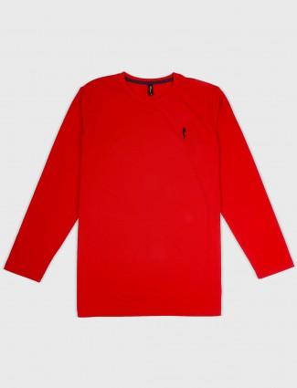 Stride red hue slim fit t-shirt
