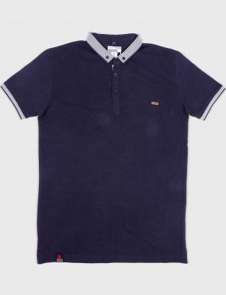 Stride solid navy hue t-shirt