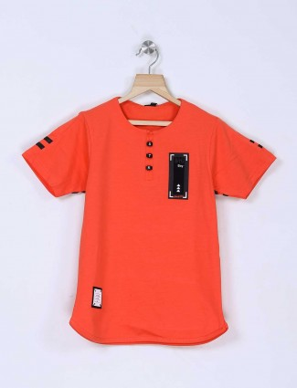 Stride solid orange t-shirt
