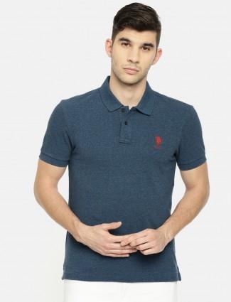 U S Polo blue casual t-shirt