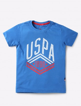 U S Polo blue color t-shirt