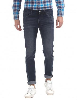 U S Polo blue hue plain jeans