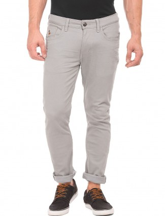U S Polo grey simple denim jeans