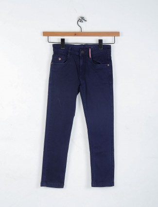 U S Polo navy plain jeans