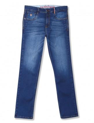 U S Polo regular blue slim fit jeans