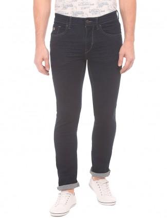 U S Polo simple navy blue jeans
