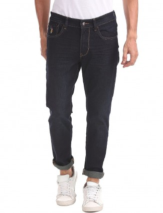 U S Polo simple navy color jeans