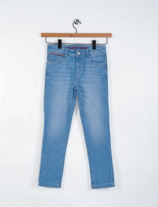 U S Polo sky blue color jeans