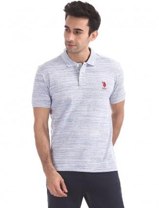 U S Polo sky blue t-shirt
