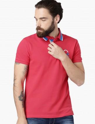 UCB dark peach hue solid t-shirt
