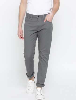 UCB grey hue denim casual wear jeans