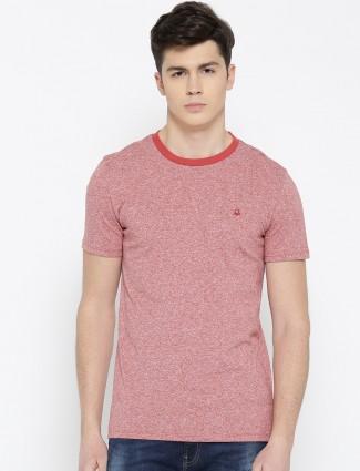 UCB orange hue cotton plain t-shirt