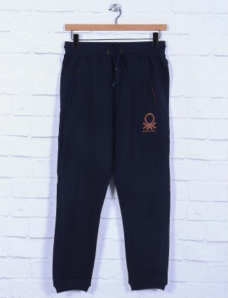 UCB presented navy cotton track pant