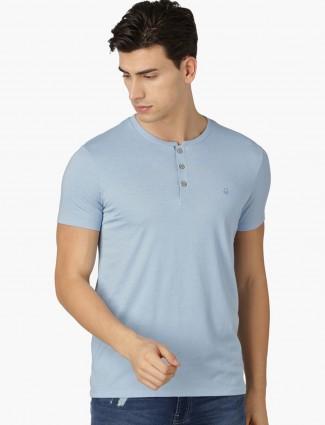UCB sky blue cotton t-shirt