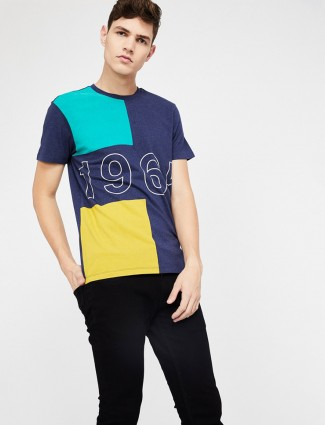 United Colors of Benetton blue hue t-shirt