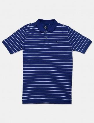 VanHeusen navy stripe cotton t-shirt