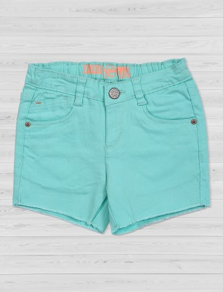 Vitamins solid pastle green shorts
