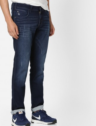 Wrangler blue color denim jeans