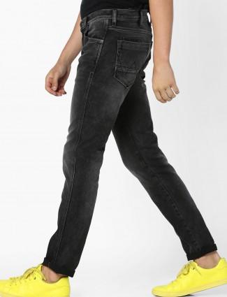 Wrangler denim black color jeans