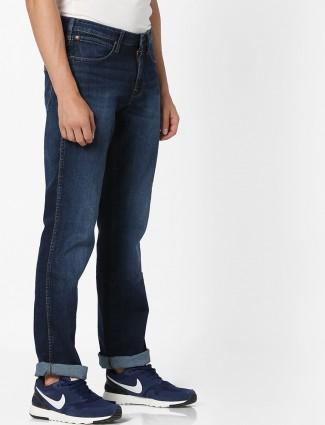 Wrangler denim navy color jeans