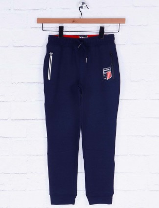 Xn Sport navy colored solid payjama